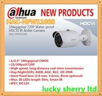 Wholesale DAHUA HDCVI Camera IP67 DC12V Megapixel P Water proof Mini IR Bullet HDCVI Camera HAC HFW1100S IP66 with M IR Distance