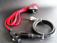 Compra Calentador de 16mm-Dnail Calentador de la bobina del Enail 110v 220v 100w 150w Regulador de voltaje EU US 16m m 20m m Kavlar 5 pernos 1000m m alambre rojo 2015new venta caliente
