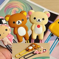 best paper clips - Best price Bear Chick Rabbit Metal Bookmark Clip Large Cartoon Paper Needle