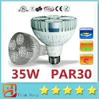 best cooling fans - 2015 Best CREE Led PAR30 Lights W E27 Led Bulbs Lights Lumens With Cooling Fan Led Lights AC V UL CSA