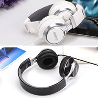 Wholesale Foldable Over Ear mm Aux Earphone Headphones Stereo Bass Music Headset Wired for iPhone Samsung MP3 PC Laptop Computer