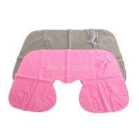 Wholesale 1pcs Inflatable Pillow Air Cushion Neck Rest U Shaped Compact Plane Flight Travel