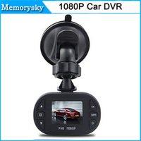 Wholesale Mini Full HD P Auto Car DVR Digital Camera Video Recorder G sensor Carro Coche Dash Cam Dashboard Dashcam Camcorders C