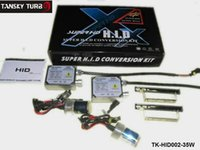 Wholesale Tansky W set ctn Car HID Kit H4 kit H4 halogen suit Bulbs ALL COLORS K K K K K K TK HID002 W