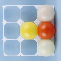balloon hole - Balloon grid holes removable baloon mesh transparent plastic party balloons accessories