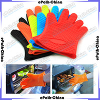 microwaves - Insulation Silicon Glove Potholder For Microwave Bakeware Oven Kitchen Gadgets Cooking Tools