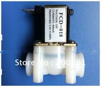Wholesale 1 quot inch port plastic normally closed DC V small solenoid valves