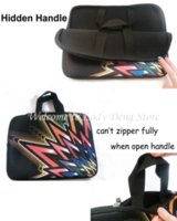 Wholesale Black inch Laptop Sleeve Bag Carry Cases Bags Neoprene Zipper Portail Funda Pouch Cover Protector