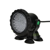 Wholesale Multi color W LED Underwater Spot Light For Water Aquarium Garden Pond Fish Tank