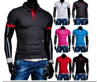 Cheap 2015 New Polo Ralph Men Cotton Mens Polo Shirts brands Short Sleeve Classic solid Plus size XXL have 6 colors