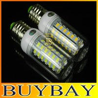 Wholesale 5pcs high quality LEDS W SMD5730LED V V LED bulb lamp Warm white white Corn BULB Light chandelier