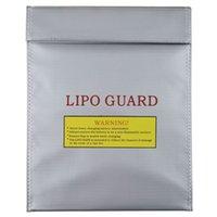 Wholesale 1pcs RC LiPo Li Po Battery Safety Fireproof Bag Case Safe Guard Charge Sack x cm Drop Shipping