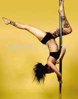 Cheap Wholesale-Dance steel pipe,Professional Spinning Dance Pole, Home removable dance training pole, professional stripper dance pole