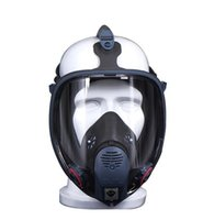 Wholesale Full Face Gas Mask Respirator Piece Suit Painting Spraying Mask Protection Filter