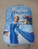 Wholesale The new hot spot foreign trade ice colors suitcase with alsa children travel check box