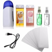 Wholesale Electric Depilatory Waxing Machine Kit Cartridge Heater Roller Strips Hair Removal