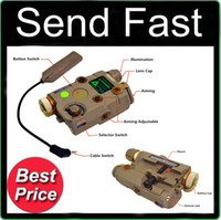 Wholesale FMA AN PEQ battery box NEW Version Upgrade Function LED white light Green laser Counter With IR Lenses Sand TB0069