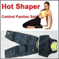 slimming pants shaper - Pants Vest Hot Shapers Sports Pants Set Women s Slimming Sets Body shaper Waist Training Corsets Sets DHL