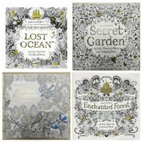 amazon coloring book - Secret Garden Lost Ocean Coloring Book Hot Sale in Amazon by Johanna Basford for Kids Adult Relieve Stress Coloring Book