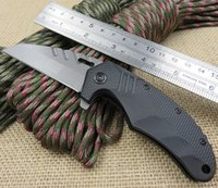 ballistic knife - New Super Microtech Folding Knife Titanium Blade with C Steel Extreme Ballistic EDC Tool Hunting Tactical Knives Camping Knife DH015