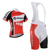 Wholesale 2015 style GIANT cycling jerseys white red and blue bicycle wear bike jersey bicycle jersey and mens xxxl cycling shorts