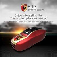 Modelo de coche Portable Bluetooth inalámbrico Altavoces Mini manos libres Subwoofers Soporte TF Tarjeta de radio FM de lujo de coches Altavoz de altavoces Music PLayer