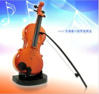 Wholesale 2015 New Arrival Fashion Acoustic Violin Natural for Violin for Kid Plastic Creative Violin Good Quality