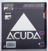 tennis racquets - Donic ACUDA S1 ACUDA S1 Turbo table tennis rubber table tennis rackets racquet sport table tennis cover Ping Pong rubber