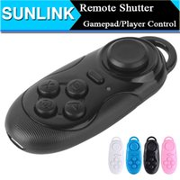 bluetooth Wireless Controller Shock 4 in 1 Smart Mini Bluetooth Selfie Remote Shutter  Gamepad  Player Controller  Wireless Mouse for Phone iPad PC Game VR 3D Glass