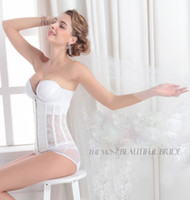 Wholesale Summer Bridal Undergarments White Lace Underware Women s Accesories Sweetheart Body Sculpting Underwear KR Wedding Slimming Shapewear