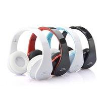 apple ipad video - NX Foldable Wireless Bluetooth V3 Stereo Earphones Headphone Headset Headband with Mic Video Remote for iphone ipad samsung DHL Free