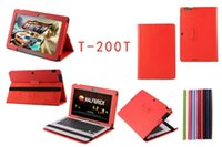 asus transformer folio case - New Lychee Wallet Case Leather Cover Stand For Asus Transformer Book T200 T200T T200TA
