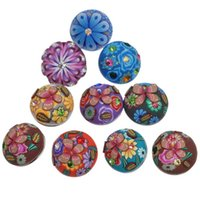 Wholesale Inlaid Crystal Rhinestone Fimo Noosa Chunks DIY Ginger Snaps Interchangeable Jewelry Personalized mm Snap Button Accessories K80052