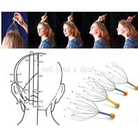 anxiety head - New Manually Octopus Shape Head Scalp Massager Massage Claw Stress Anxiety Relax Health Care