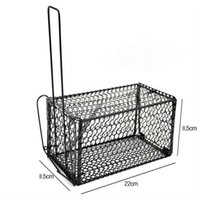 animal cage traps - Rat Cage Mice Rodent Animal Control Catch Bait Hamster Mouse Trap Humane Live high quality brand new S645