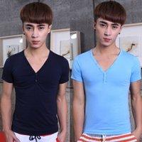 Cheap Men Shirt Best Short Sleeve Cotton Korean