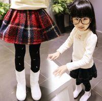 mini plaid skirt - Korean Style Girls Woolen Plaids Skirts Hot Short Fashion Mini Thicken Warm Atutumn Winter Skirt All Match Preppy Skirt Red Green J3479