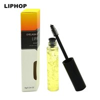 Wholesale yes Eyelash Growth Treatments Brand Makeup LIPHOP Eyelash Growth Serum Liquid Eyelashs Treatments Original Mascara Enhancer Eye