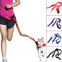 Wholesale 1pcs Nylon Running Pet Dog Leash Rope Training Slip Adjustable Traction Collar Rope Chain dog harnessTraining Walk