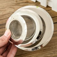 Wholesale Pieces Set Stainless Steel Sewer Filter Bathroom Drain Outlet Kitchen Sink Filters Anti Clogging Floor Drain Net