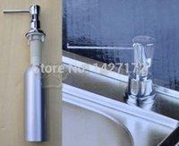 aluminum soap dispenser - Hot Sale Deck Mounted Aluminum Kitchen Sink Liquid Soap Dispenser ml