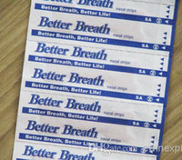 Wholesale Breathe Right Better Nasal Strips Right Way To Stop Snoring Anti Snoring Strips Easier Better Breathe With CE