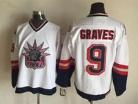 authentic rangers jerseys - Top Quality Men New York Rangers Ice Hockey Jerseys Adam Graves Statue Of Liberty Throwback Vintage CCM Authentic Stitched Jerseys