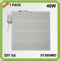 Wholesale Manufacturer DIY INSTALL V V V DIY kits surface mounted W LED pcb ceiling light source techo led panel light cm lm