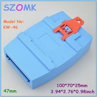 Wholesale wall mount plastic enclosure control box mm plastic case electronics electrical junction box din rail enclousre