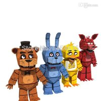 Wholesale Hot Sale Papers Set Five Nights at Freddy s DIY Toy Model Creative Toys Educational Model Building Kits