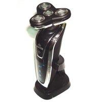 D19Deluxe nuevo Rotary 4D recargable lavable hombres #039; envío inalámbrico Electric Shaver Razor libre s