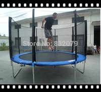 Wholesale inch jumping bed Cheap Kids Outdoor Gymnastics Spring Trampolines Kids Trampoline With Tent