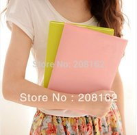 Wholesale Simple Colorful Cute Notebook Love s Smile Soft Leather B5 Transcript
