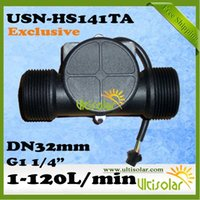 Wholesale USN HS141TA Hall Effect Water Flow Sensor L M G1 quot Ultisolar New Energy Solution Provider Woolf Zhang